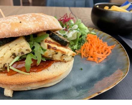 Berloumi-burger