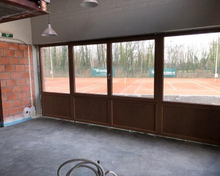 Nieuw raam binnenzicht