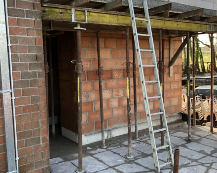 Verbouwingswerken clubhuis
