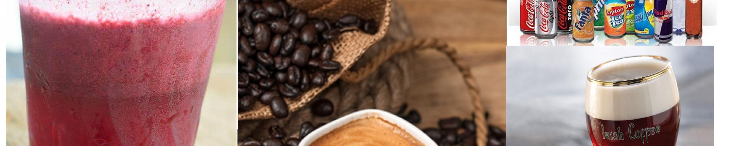 Frisdranken - Warme dranken  - Straffe koffie - Smoothie