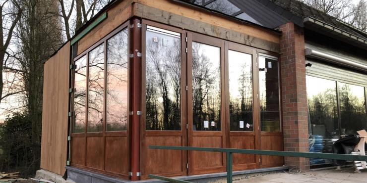Verbouwingswerken clubhuis/Bistro